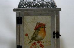 Lampion z ptakami