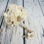 Bukiet ślubny naturalny