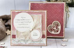 Kartka ślubna w pudełku. Personalizacja (s02)