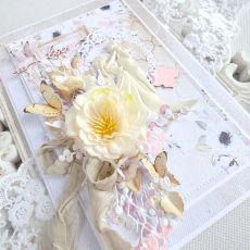 Ślubna kartka  w pudełku 230