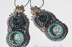 glamour beaded embroidery Swarovski