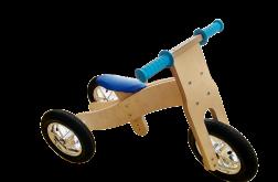 Rowerek biegowy drewniany 2w1 Hand Made