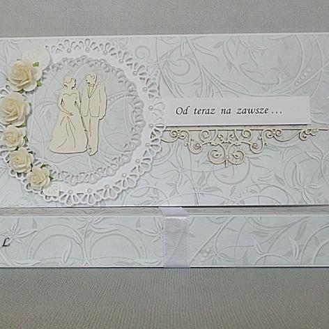 W Dniu Ślubu ze srebrem  + ozdobne pudełko