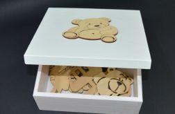 Kuferek Szkatułka Pudełko z magnesami