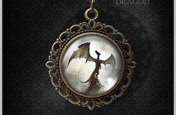Medalion Shadow Dragon - romantyczny