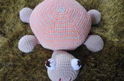 Poduszka żółwik różowy