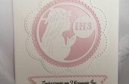 Zaproszenie I Komunia wzór 112
