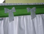 Zazdrostka - zielona łączka - retro, shabby chic 2  -wys. do 60 - tunel