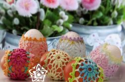 Koszulki koronkowe na jajka