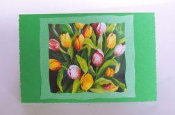 Uniwersalna kartka tulipany 3