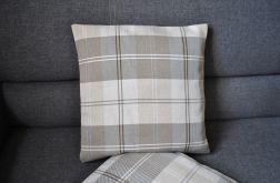 Poszewka - beżowy tweed