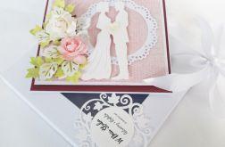 """""""W odecieniach miłości"""" - Karteczka Ślubna"""