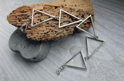 Bransoletka z trójkątów