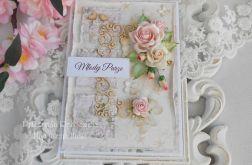 Ślubna kartka A6 w pudełku 10