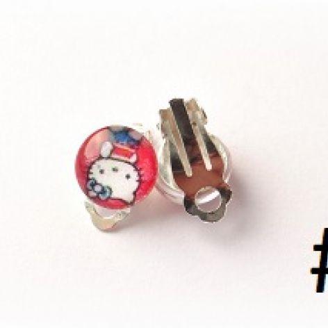 Klipsy Hello Kitty - mix wzorów #4 #5