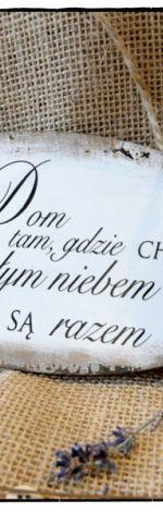 Szyld Tabliczka z napisem ~Dom~