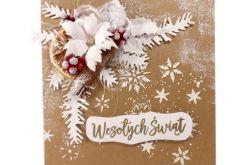 #712 - KARTKA, Boże Narodzenia, świąteczna