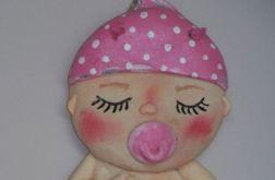 Bobas dziewczynka w pampersie