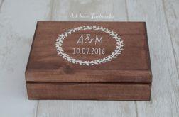 Pudełko na obrączki AMBRE RUSTIC