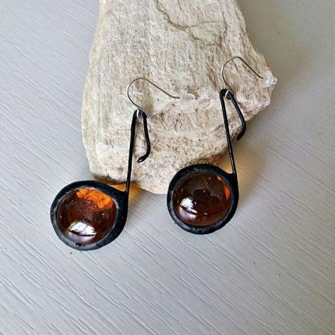 Bursztynowe Nutki Tiffany