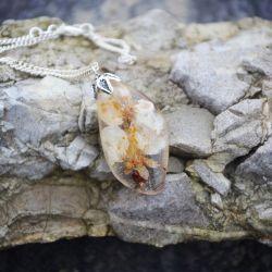 Zatopek Kwiat Brzoskwini naszyjnik