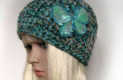 Melanż kolorów - czapka