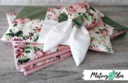 Komplet patchworkowej pościeli ~ róże