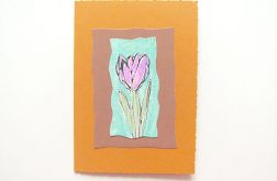 Kartka uniwersalna - tulipan 5