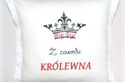 POSZEWKA haftowana 40/40 KRÓLEWNA satyna 40 zł