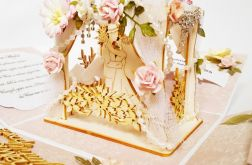 Exploding Box ślubny romantyczny z altanką