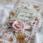 """Kartka dla Babci, Dzień Babci """"Diary"""" GOTOWA -"""