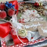 Kartka świąteczna w pudełku VINTAGE #1 - Detal1