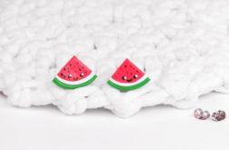 Urocze arbuzy kolczyki