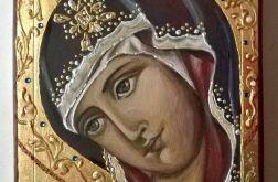 Ikona pisana Maryja Królowa