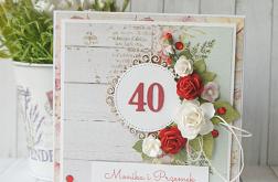 40. Rocznica ślubu - Rubinowa