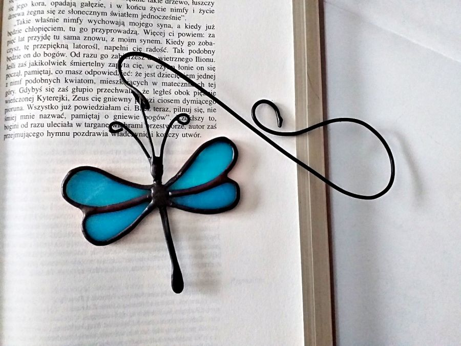 Zakładka do książki Ważka błękit