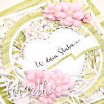 kartka ślubna z kwiatami KSK2018 - na ślub