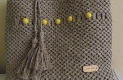 Torba plażowa ręcznie robiona