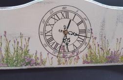 Zegar lawendowa łąka