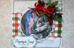 Kartka świąteczna  - Boża Rodzina 10