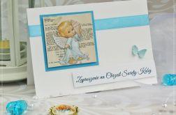 Zaproszenia Chrzest św. Little Angel