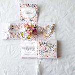 Exploding box rocznica ślubu, kwiaty #00001