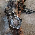 Wisior z Doliny Królowych - ręcznie robiony