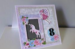 Kartka na roczek 2,3, ... urodziny wróżka