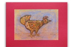 Ptaszek 29 - rysunek dekoracyjny
