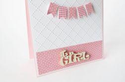 Kartka gratulacyjna It's a Girl