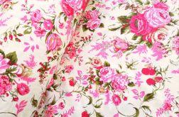 Tkanina bawełna - cygańskie róże