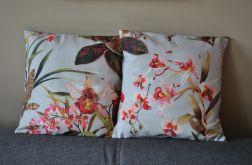 Poszewka dekoracyjna - storczyki i orchidee