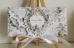 Kartka ślubna kopertowa kopertówka Grace II