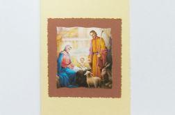 Kartka świąteczna stajenka nr 2